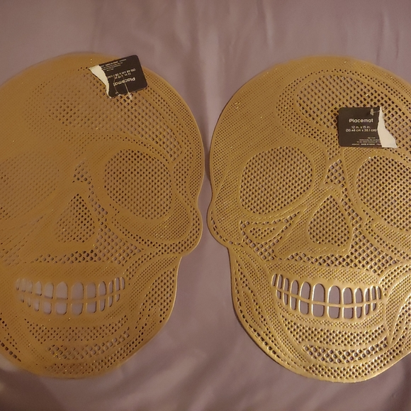 Other - Gold Skull Placemats